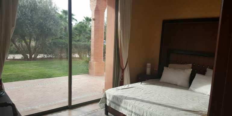 appartement vide de trois chambres à la palmeraie marrakech (2)