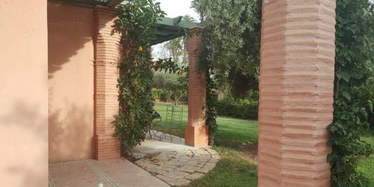 appartement vide de trois chambres à la palmeraie marrakech (7)