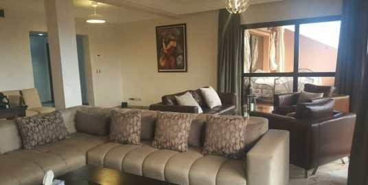 Appartement a louer meublé à l'hivernage Marrakech
