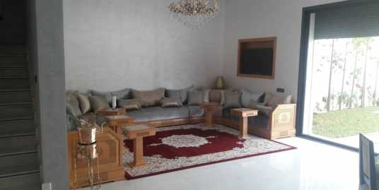 belle villa contemporain à targa marrakech