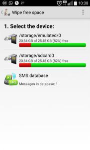 SMS Wipe-2.Adım