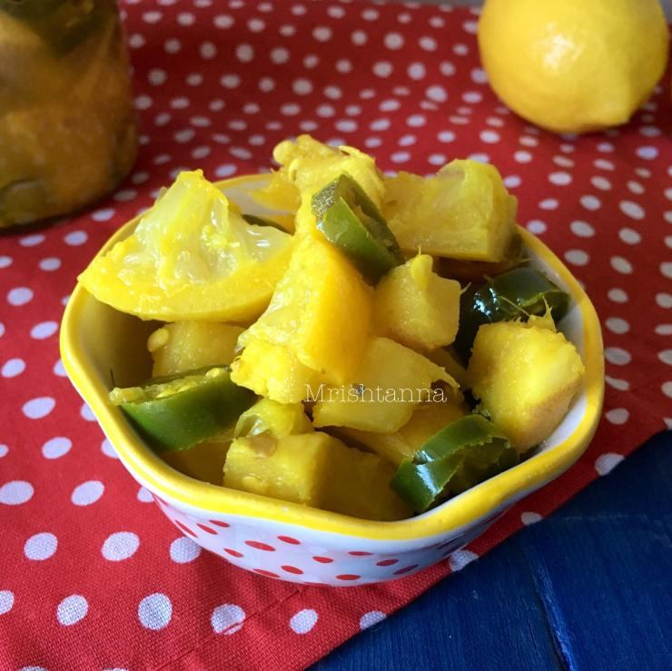 Lemon Chili Pickle Recipe