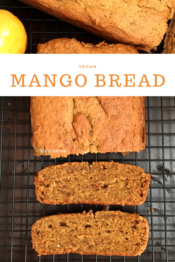 Vegan Mango Bread Recipe
