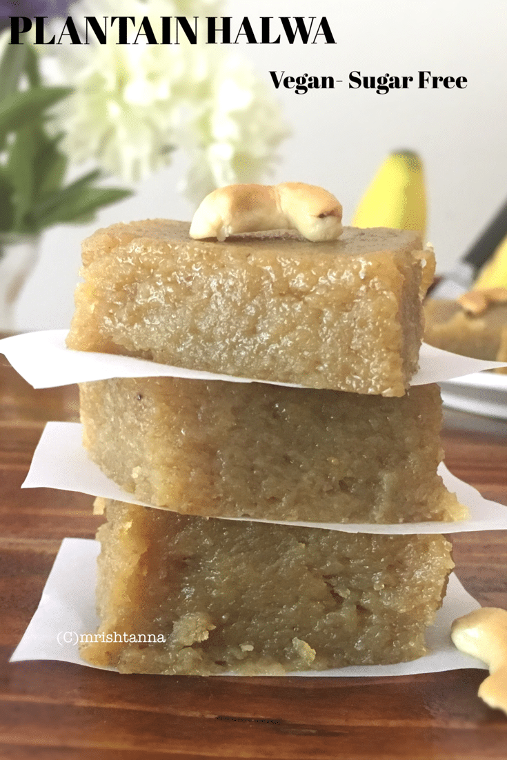 Sweet Plantain Recipe - Plantain Fudge