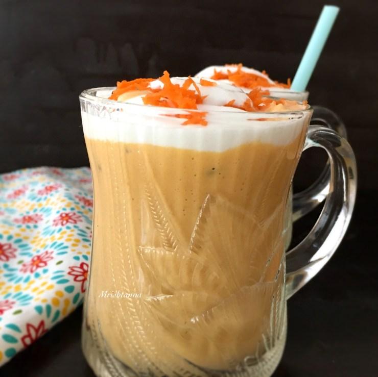 Vegan Carrot Milkshake