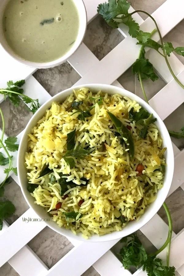Green Mango Rice Recipe - Simple Sumptuous Cooking