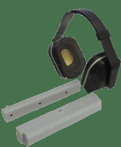 bi-directional headphones for mri stereo
