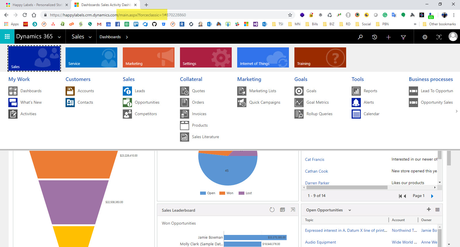 Forcing Classic in Dynamics 365 | Jamie Bowman