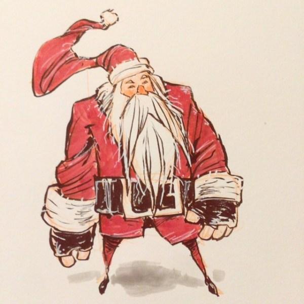 Sketching Sinter Klaus http://rndm.us/jms # #