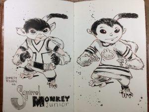 Squirrel Monkey Jr.