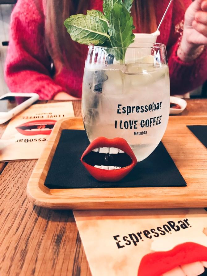 ESPRESSOBAR I LOVE COFFEE BRUGGE - KOFFIE
