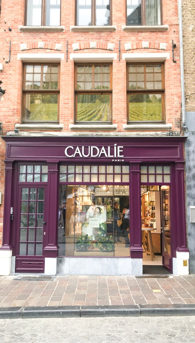 Caudalie Spa Boutique Brugge Staycation MRJLN Simply Say Marjolein