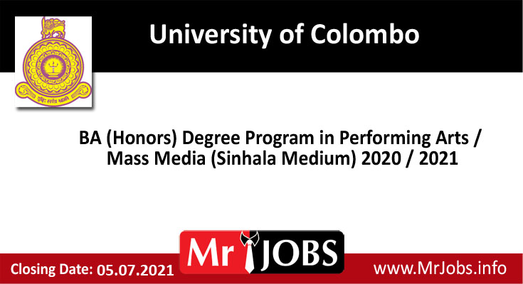 University of Colombo Digree Courses