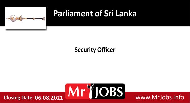 Parliament of Sri Lanka Vacancies