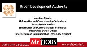 Urban Development Authority Vacancies