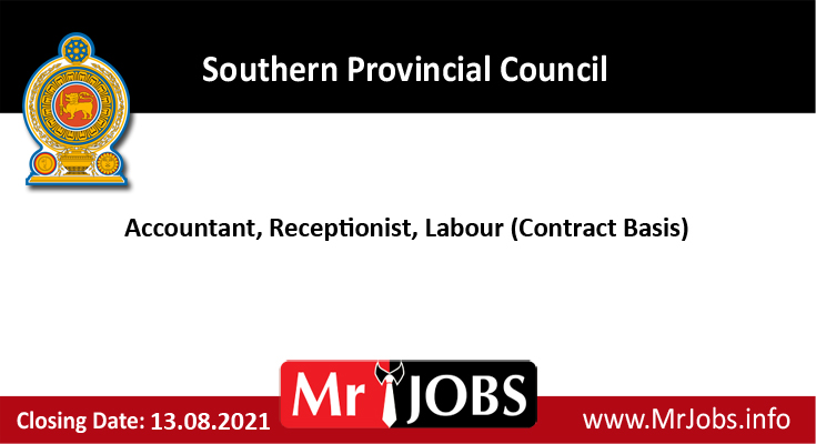 Southern Provincial Council Vacancies