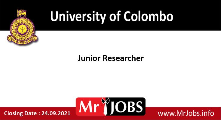 University of Colombo Vacancies