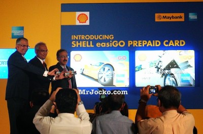 Shell EasiGo Prepaid Card American Express Maybank