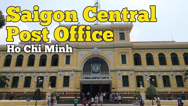 Saigon Central Post Office Di Ho Chi Minh