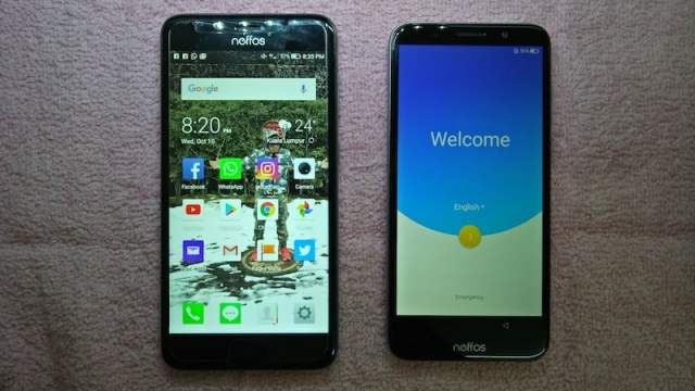 unboxing neffos c9a smartphone