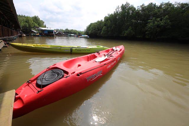 Aktiviti Kayak di Ban Bor Thor Krabi