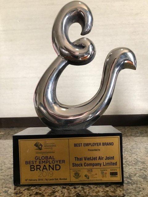 Thai VietJet Won Global Best Employer Brand 2019