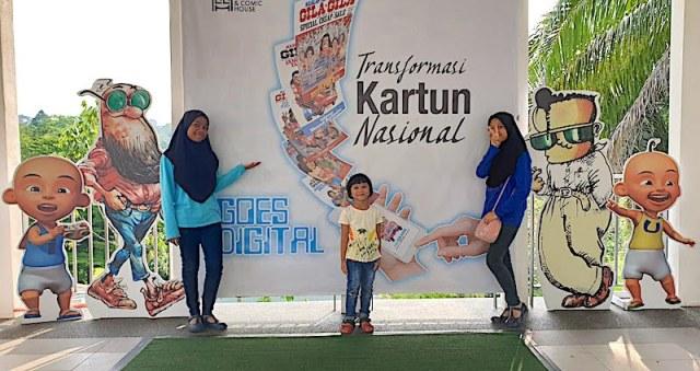 rumah kartun dan komik malaysia taman botani 02