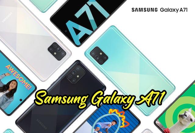 Samsung Electronics Melancarkan Galaxy A71 Galaxy A51 copy