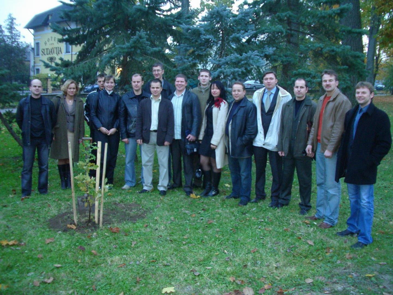 2006 m. Pasodintas medis Vytauto parke