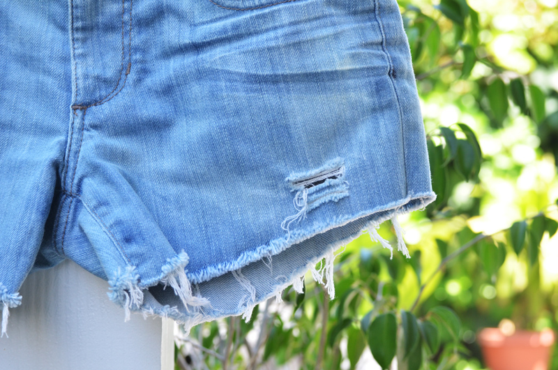 denimshorts after 3 DIY: The Perfect Jean Shorts