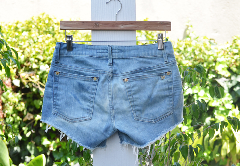 denimshorts after back DIY: The Perfect Jean Shorts