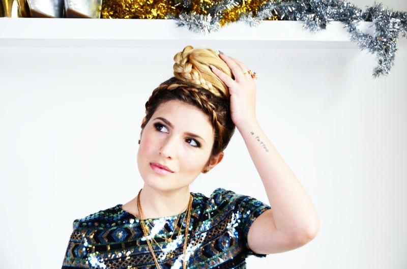 Mr Kate DIY Last Minute Holiday Hair