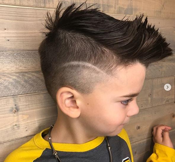 Two Side Cut Hairstyle Boy Ala Model Kini