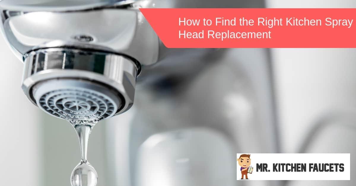 kitchen spray head replacement