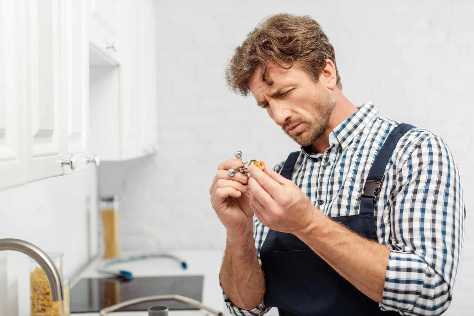 how to remove kitchen faucet handle