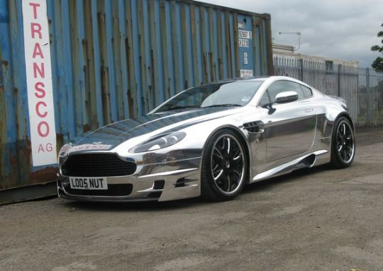 This is the Chrome Car Wrap