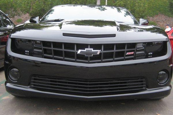 The Camaro Smoked Headlights