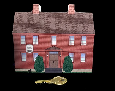 The infamous Widow White's Tavern in Basking Ridge changed the course of American history.