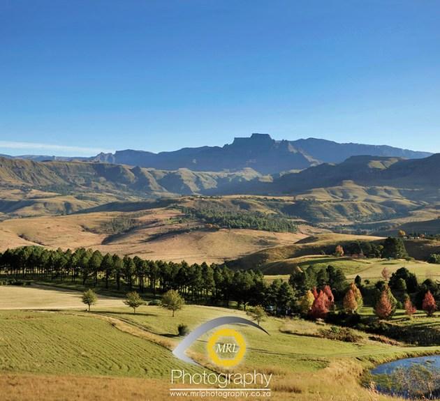 Drakensberg in March