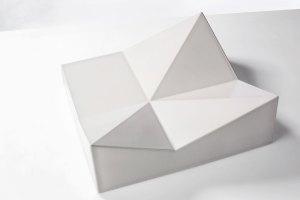 Gießkeramik Keramikfassade Kachel 3d