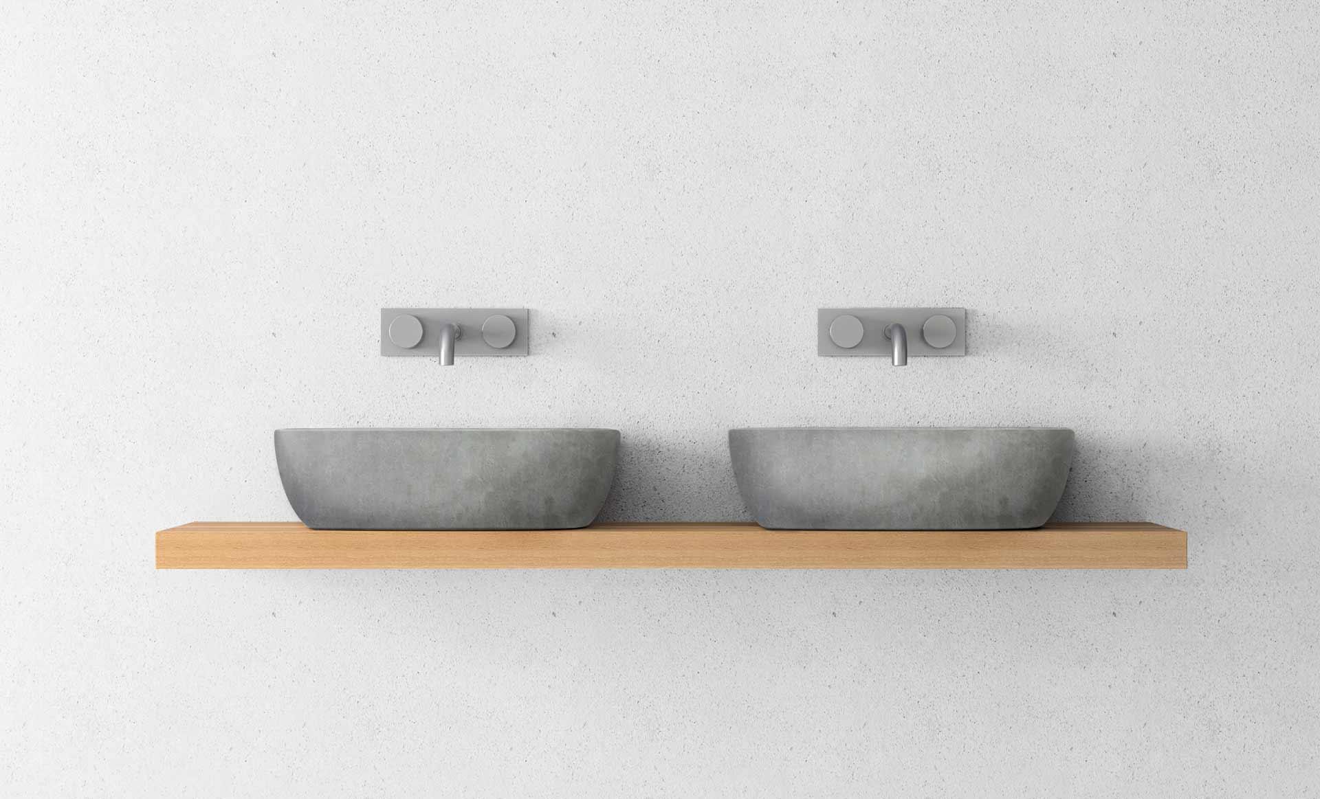 concrete. Black Bedroom Furniture Sets. Home Design Ideas