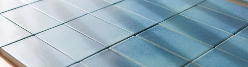 old ceramic tiles with special glazing