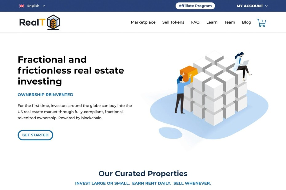 RealT.co Review 2020: Tokenized Real Estate on the Blockchain