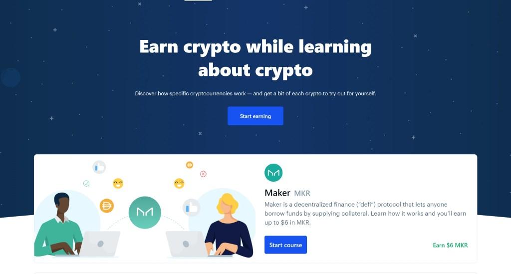 Coinbase - Earn Crypto