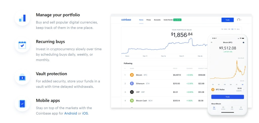 Coinbase - Recurring Buys