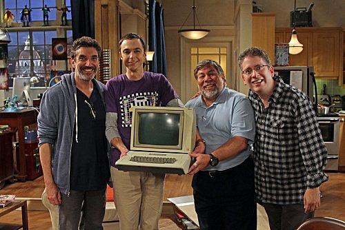 Chuck Lorre, Jim Parsons, Steve Wozniak, Bill Prady, CBS, The Big Bang Theory, Mr. Media interview