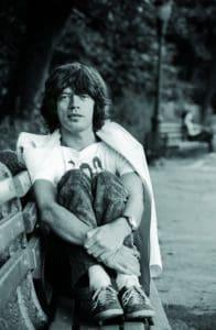 Mick Jagger by Ken Regan