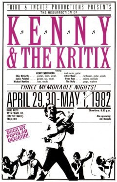 Kenny & The Kritix. Boulder, Colorado, Kenny Weissberg, Off My Rocker, Mr. Media Interviews