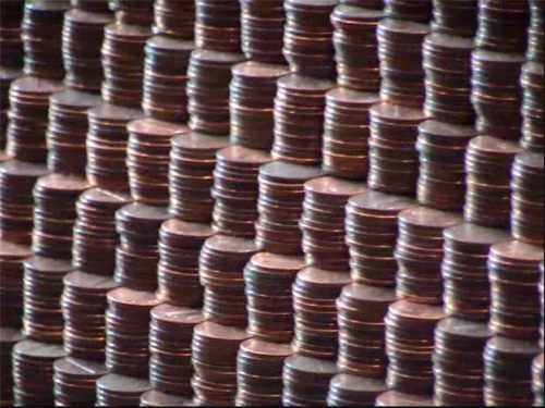 Pyramid of Pennies