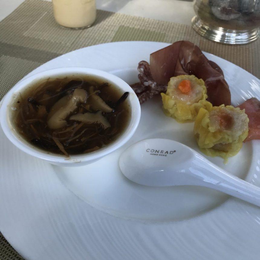 Conrad Hong Kong咖啡園Garden Café-是日早餐2